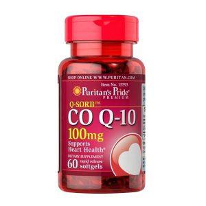 Viên uống hỗ trợ tim mạch Puritans Pride Coq10 100mg 60 viên