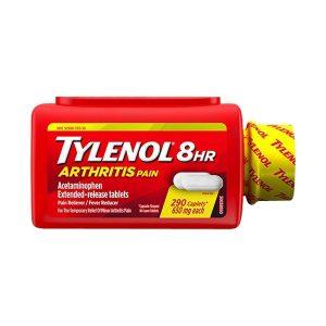 Viên uống giảm đau hạ sốt Tylenol 8Hr Arthritis Pain 650mg Mỹ