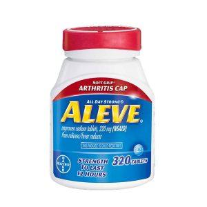 Thuốc giảm đau hạ sốt Aleve Naproxen Sodium 220mg Mỹ