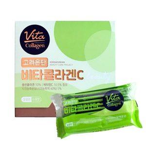 Vita Collagen táo xanh 1000mg Hàn Quốc - Collagen dạng bột