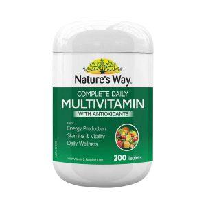 Vitamin Nature's Way Complete Daily Multivitamin Úc 200v